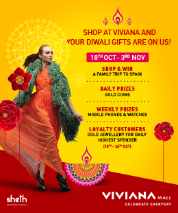 Diwali Offers at Viviana Mall