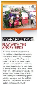 Play with Angry Birds Activity featured in Newspaper - Viviana Mall