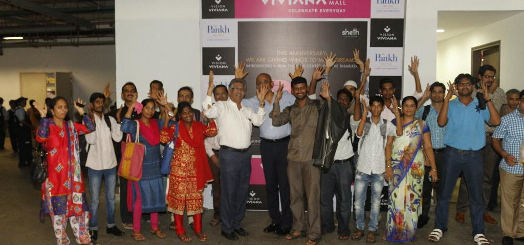 PANKH Join Hands to Create Job Opportunities for PWDs in the Retail sector - Viviana Mall