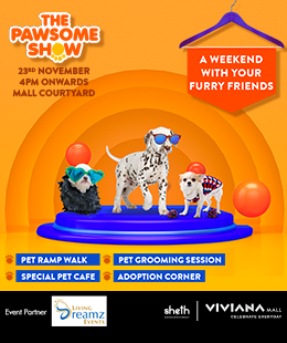 The Pawsome Show at Viviana Mall