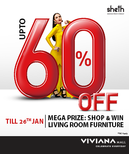 Upto 60% Off at Viviana Mall
