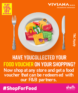 F&B 15% off Food Voucher - Viviana Mall